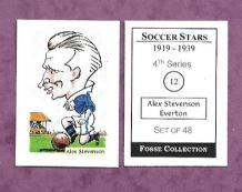 Everton Alex Stevenson Ireland 11 (FC)